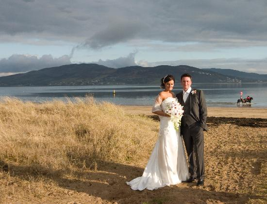 Rathmullan House: down at the beach