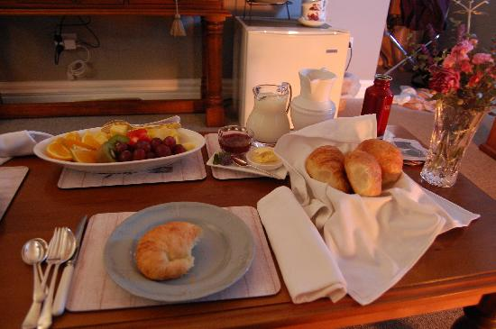 Hillsfield House Bed and Breakfast Marlborough: Delicious!
