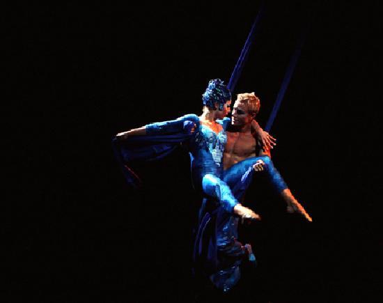 La Nouba - Cirque du Soleil: UNA DE LAS MEJORES IMAGENES