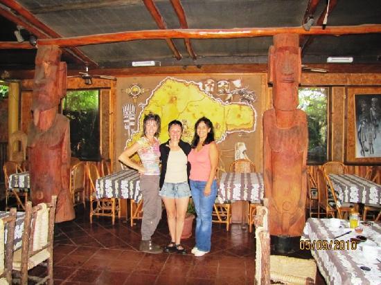 Hotel Manavai: Alba con Kimba y Mericó