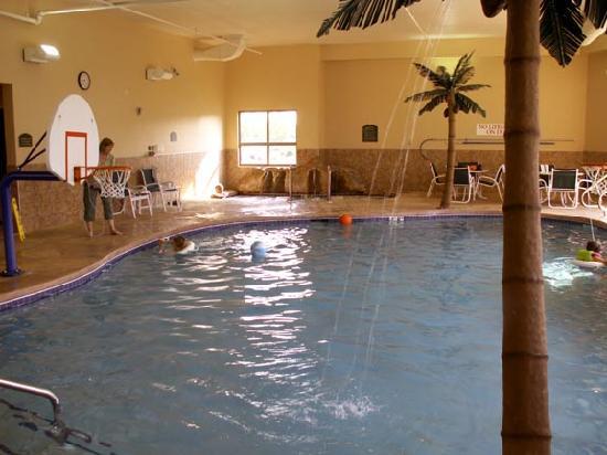 هوليداي إن ماديسون آت ذا أميريكان سينتر: We especially liked the pool area, which is roomy and well-maintained.