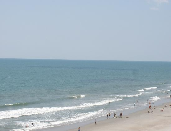 Garden City Beach, Carolina del Sur: Southern view from balcony.