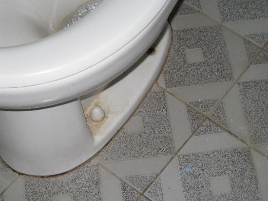 Dewa Bharata Ubud: filthy bathroom