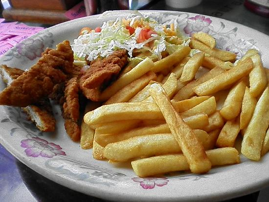 Fiesta Mexicana Family Restaurant: kids chicken strip meal