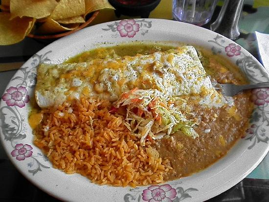 Fiesta Mexicana Family Restaurant: pork burrito