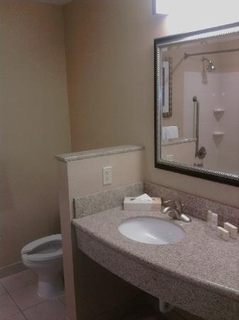 كورت يارد باي ماريوت بيوريا: Bathroom