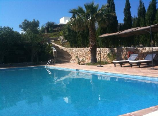 Hotel Rural Can Pujolet: Piscina/swimming pool