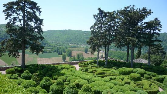 Les Jardins de Marqueyssac : The Topiary Garden and View