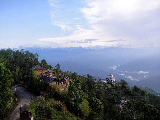 Niva Niwa Lodge: View from terrace