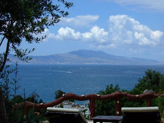 Aegean Gate Hotel: The view from the gardens