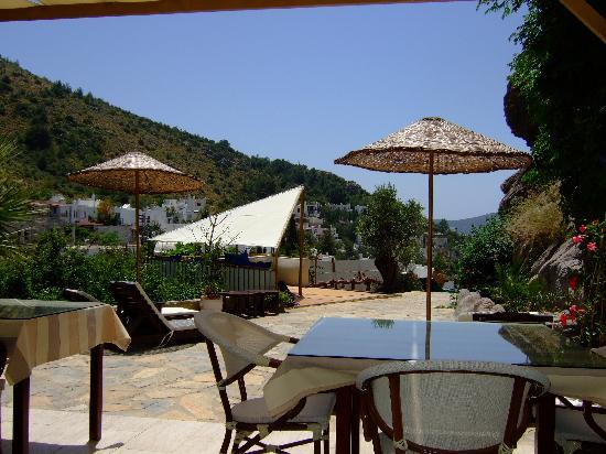 Aegean Gate Hotel : The view from the breakfast area
