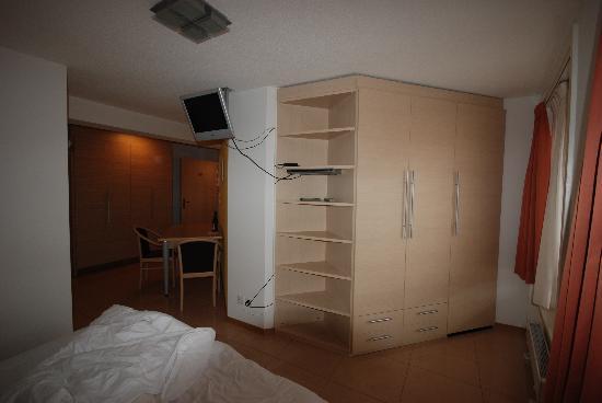 Hotel du Faucon : vue chambre