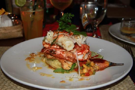 Ibu Rai Bar & Restaurant: maincourse