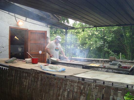 Sgonico, Italia: grigliata
