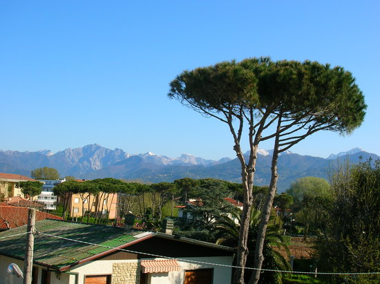 Lido Di Camaiore, Italia: Blick vom Zimmer