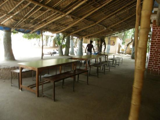 Saguna Baug: Lunch Table