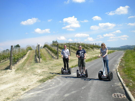 Alba, Italien: Loving the Segway
