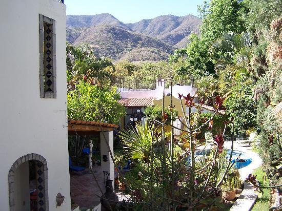 Quinta del Sol: the view off my balcony