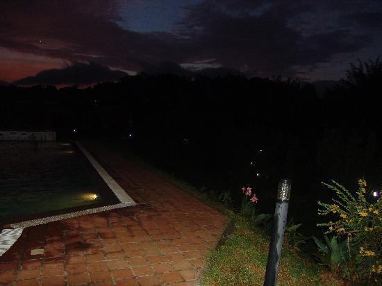 Ammathi, India: Evening View