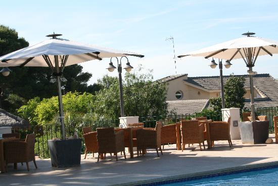 Les Rotes Hotel : terraza