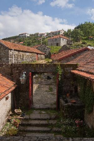 Amarante, Portugal : The view from our veranda.