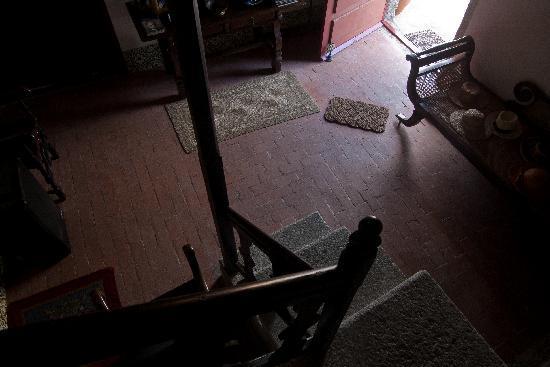 Amarante, Portugal : Down the stairs.