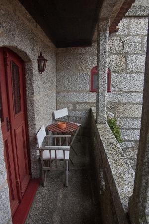 Amarante, Portugal : The veranda.