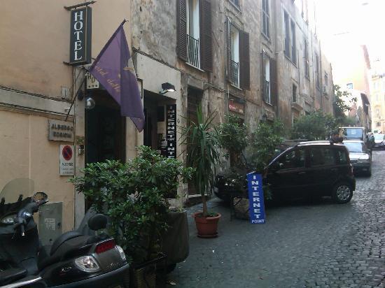Front of Hotel delle Regioni