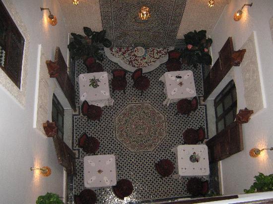 Dar Fes Medina: Dining area