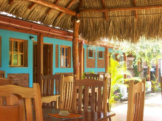 Club Surf Popoyo: terrace