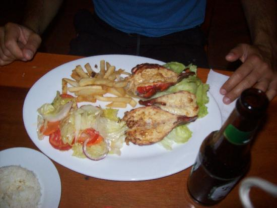 Club Surf Popoyo: food