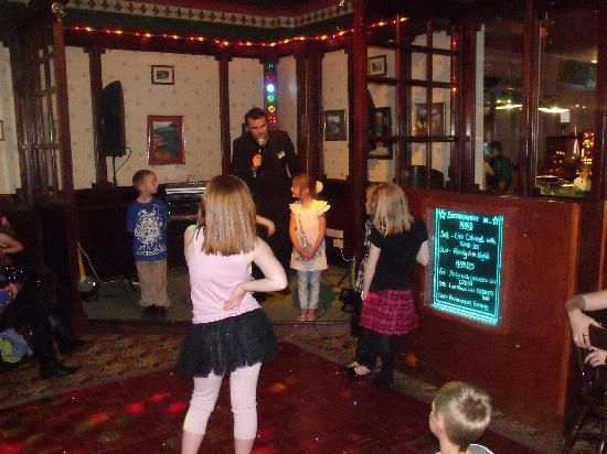 Silloth, UK: kids club at nags head bar