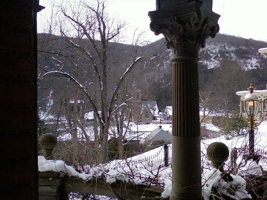 "Harry Packer Mansion Inn: View from ""Mystery Room"""