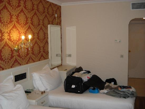 Green Anka Hotel : Stanza