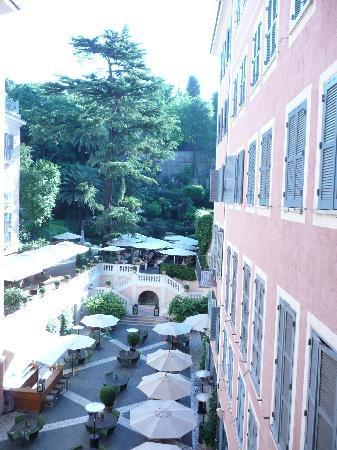 Hotel De Russie : jardin magnifique au coeur de rome