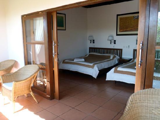 Liberty Dive Resort : Familie kamer van balkon