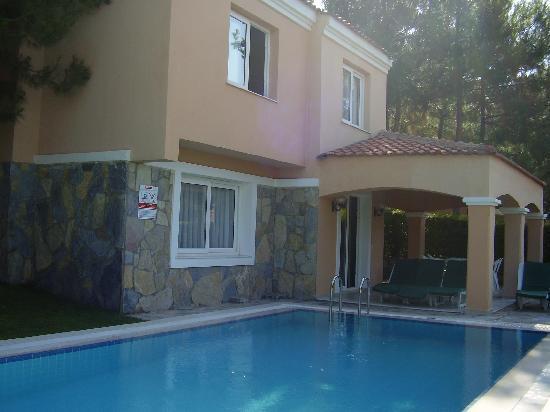 Sogucak, Türkiye: Our Villa and Pool