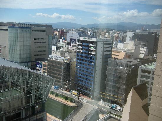 Hotel Okura Fukuoka: Vistas Habitación