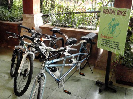 Risata Bali Resort & Spa: 自転車レンタル