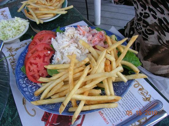 Mabel's Lobster Claw: Half crab/half Lobster Salad