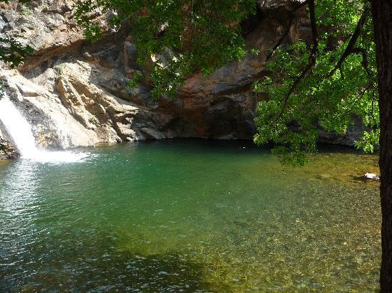 Dalyan, Turkey: waterfall
