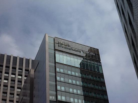 Hotel Ryumeikan Tokyo: Daytime View