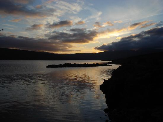 Lairg, UK: End of a perfect day.