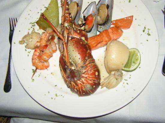 Grand Bahia Principe Bavaro : Mixed fish and sea food in the Gourmet Restaurant