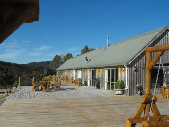Split Apple Lodge: between Kaiteriteri and Abel Tasman National Park