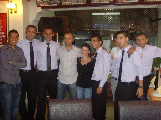 Golden Boys Restaurant : The Staff