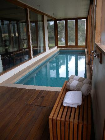 Emirates One&Only Wolgan Valley: Indoor 27 degree private pool