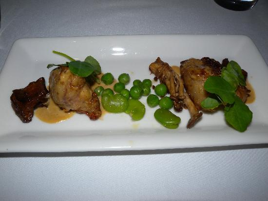 Emirates One&Only Wolgan Valley: one of the entree