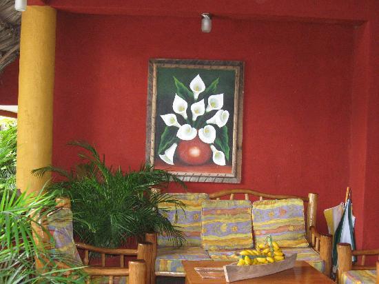 Banana Palms Hotel Resort & Marina: front desk