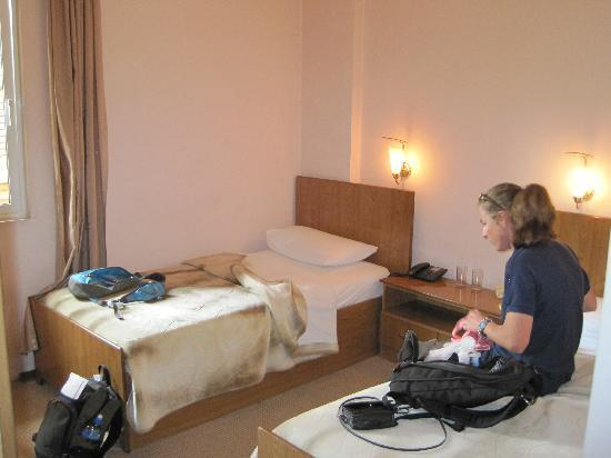 Europa Hotel: Twin beds room